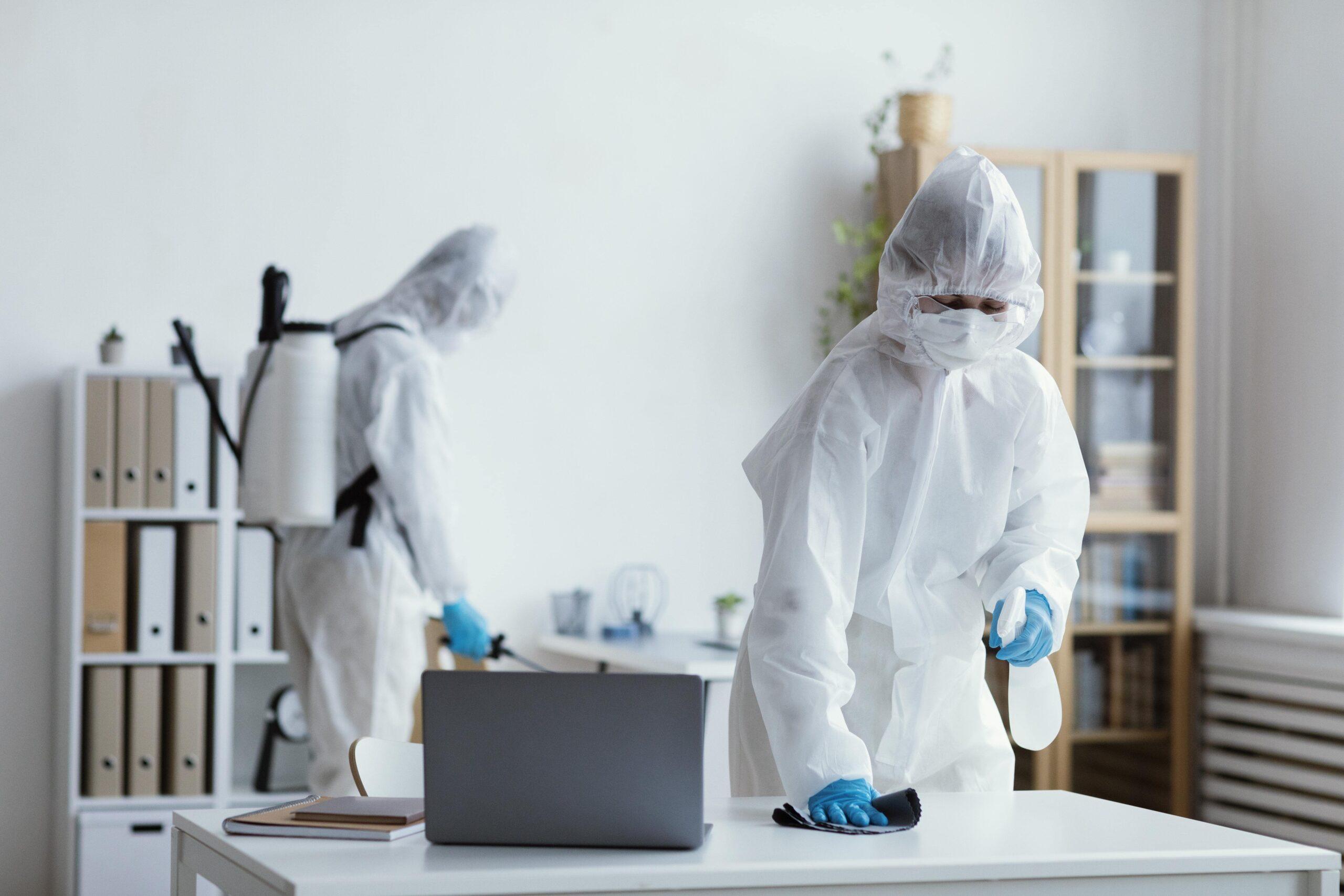 dezynfekcja w firmie śląsk